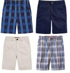 7832751801 Arizona Boys Shorts Chino Denim Adjustable Preschool size 4 5 6 7 NEW # Arizona #