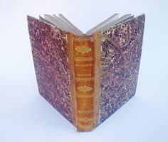 FRENCH LAW BOOK 1834 Volume 3 Large Antique by FrenchMarketFinds, €70.00