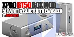 Xpro BT50 Box Mod By Smok $115.00   GOTSMOK.COM