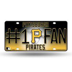 Pittsburgh Pirates MLB Metal Tag License Plate #1 Fan