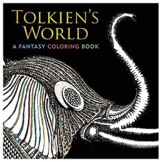 This beautiful coloring book—suitable for Tolkien fans of all ages—presents more than 90 pages of famous scenes from Middle-earth, from the Trees of the Valar to Mount Doom; and characters as beloved as Gandalf the wizard, or as feared as Smaug th. Adult Coloring, Coloring Books, Coloring Pages, Tolkien, Gifts For Readers, Self Publishing, Lord Of The Rings, Paperback Books