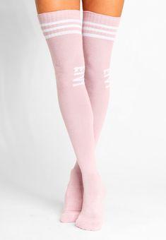 b00cd944d ALPINE SOCKS CHEERLEADER OVER KNEE - Calcetines hasta la rodilla - dusty  pink Calcetines Hasta La