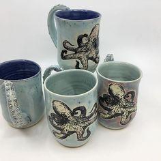 Octopus Mugs.