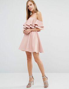 Keepsake   Keepsake Two Fold Mini Dress