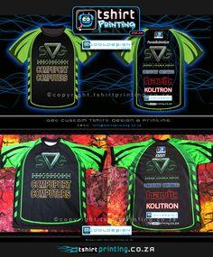 Custom Gamer T-shirt Design Sport Shirt Design, T Shirt Printing Company, Gamer Shirt, Sublime Shirt, Custom Printed Shirts, Running Shirts, Sports Shirts, Tshirts Online, Shirt Designs