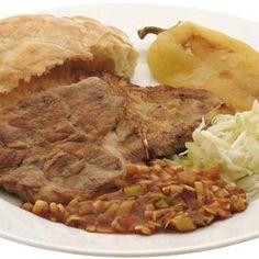 Sertéstarja - Megrendelhető itt: www.hu - A vizuális ételrendelő. Beef, Food, Meat, Essen, Meals, Yemek, Eten, Steak