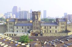There is a castle in my neighborhood . except it's actually a prison in fabulous ruin — Eastern State Penitentiary, Fairmount Eastern State Penitentiary, Visit Philly, Roadside Attractions, Great Vacations, News Sites, Abandoned Houses, New Artists, Vacation Destinations, Prison