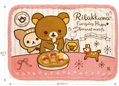 Rilakkuma Happy Natural Time Series!