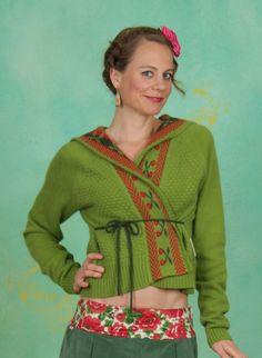 Blutsgeschwister Herbst Cardigan, Kalmyk Capeigan, moldova-knit