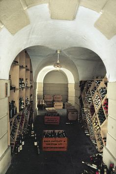 The Wine Cellar in Queen Mary's Dolls' House by The British Monarchy, via Flickr