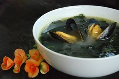 Miyeok guk is a soup made with miyeok (also known as wakame) which is a variety of sea vegetable or seaweed. It is a mild and tasty soup typically made with beef broth or seafood (such as clams or mussels) based broth. More so than other Korean dishes, this soup has a special significance to …