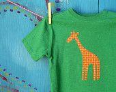 Children's Tshirt, Dinosaur Applique, Heather Green Short-sleeve, Boy's Youth Extra Small xs (4-5), READY-TO-SHIP. $18.00, via Etsy.