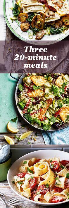 ... : 30-Minute Meals on Pinterest | Fish Finger, Chorizo and Nasi Goreng