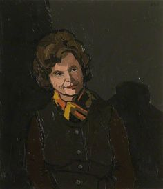 Sir Kyffin Williams - Councillor Dora Phyllis Oxenham (1910–1996), CBE, Chair of Northamptonshire County Council (1969–1972)