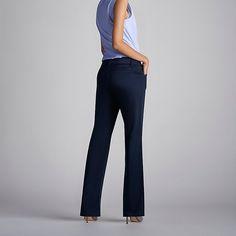 Lee Women's Curvy Fit Maxwell Trouser - Modern Series - Petite Pants (Size 16 SlimP)