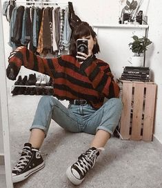 Suivez ALTGirl Alternative Style Grunge Style Gothic Style Grunge Girl Grunge O . Suivez ALTGirl Alternative Style Grunge Style Gothic Style Grunge Girl Grunge O … # Grunge Look, Mode Grunge, Style Grunge, Grunge Girl, 90s Grunge, Indie Style, Trendy Style, Retro Outfits, Indie Outfits