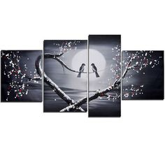 Best Canvas Paintings Birds Products on Wanelo