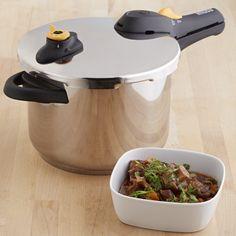 GlobalKitchen 6.2-Quart Stainless Steel Pressure Cooker