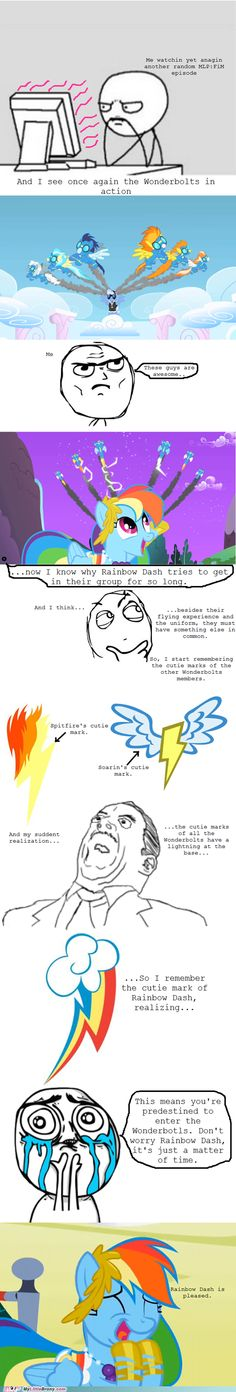 But Lightning Dust has a bolt as her cutie mark... Maybe she can be redeemed later :) (is it scary that i understand this?)