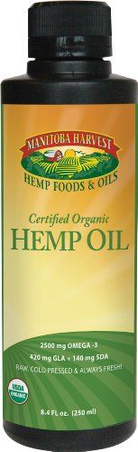 Manitoba Harvest Certified Organic Hemp Oil -- 8.4 fl oz >>> Sensational bargains just a click away : Baking supplies