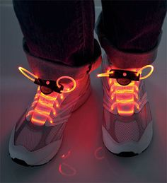 LED Light-Up Shoelaces that have LED lights with three settings: constant glow, blink, and slow flash. Over 70 hours and waterproof BABY! Zach would be so excited! Halloween Outfits, Halloween Clothes, Costume Halloween, Glow Sticks, Gifts For Boys, Lace Up Shoes, Light Up, Air Jordans, Fashion Accessories