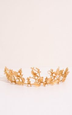 Pick Me Up headband in gold