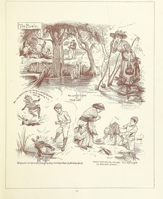 Image taken from page 23 of 'Delightful Thames ... Engraved by D. Cooper'   by The British Library