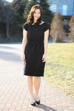 Creating In The Gap...: LBD...I'll Have Mine Ruffled