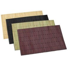 Benson Mills Greek Blocks Bamboo Placemats, Sage, Set of 4 by Benson Mills. $26.53. Available in Additional Colors.. Wipe Clean. Can stand up to everyday use. Hand assembled heavy bamboo blocks. 100-Percent Bamboo. Impress your guests with these elegant hand assembled heavy bamboo placemats.  Perfect for everyday use, and very easy to clean.