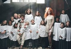 Vogue's resident style guru Grace Coddington comes together with the legendary Annie Leibovitz for a reinterpretation of Hansel and Gretel. Appearing in the December issue, the editorial features Lily Cole and Andrew Garfield with a special appearance by Lady GaGa.