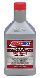 10W-40 Synthetic ATV/UTV Motor Oil Product Image