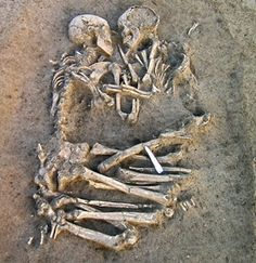 A love to last 5,000 years - Two skeletons found locked in an eternal embrace have been unearthed by Italian archaeologists near Verona, the city of Shakespeare's Romeo & Juliet.