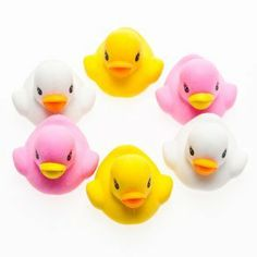Ducky Eraser Set by Century Novelty. $2.59. Rubber Ducky Fun. Rubber ducky you're the one . . .even at the office! The Ducky Eraser Set is fun for children of all ages and keeps your important documents error free. Store these duck erasers at the office, school, or home for unique desk essentials that really make a splash! 6 erasers per package. Ducks are 1 1/4. Ducks are pink, white, and yellow. Duck party favors are a nostalgic favor for children of all ages...