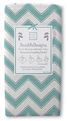 SwaddleDesigns Marquisette Swaddling Blanket, Chevron, Turquoise SwaddleDesigns http://www.amazon.com/dp/B00AY3JV30/ref=cm_sw_r_pi_dp_7td6tb1HV6EPP