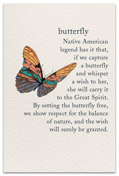 Butterfly Inside Message: Wishing you time for a whisper today. Native American Legends, Native American Quotes, American Symbols, American Indians, Native American Prayers, Native American Spirituality, Pretty Words, Beautiful Words, Words Quotes