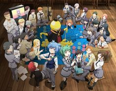 Primera imagen promocional de la segunda temporada de Ansatsu Kyoushitsu.