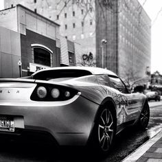Black & White brings out the beauty in any subject. Tesla Roadster, Automobile, Black And White, Nice, Check, Beauty, Instagram, Autos, Car