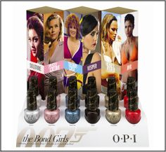 opi bond girls collection