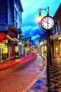 Ιωαννινα Visit Greece, All Over The World, Big Ben, Photo Art, Times Square, Friendship, Landscapes, Heaven, Earth