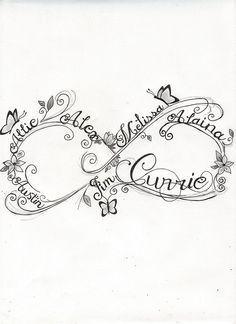 infinity symbol tattoo - Google Search