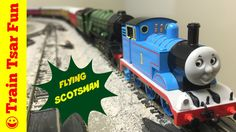 Thomas & Friends Meet the Flying Scotsman Train! LNER A3 Pacific Steam L...