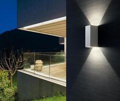 Balcone cortile terrazze Casa Porta Vialetto Illuminazione antracite esterno applique