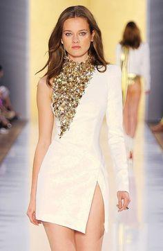 Alexandre Vauthier - Paris Haute Couture A/W 12 Fashion Show Images Style Haute Couture, Couture Fashion, Runway Fashion, Womens Fashion, Couture Week, Look Fashion, High Fashion, Fashion Show, Fashion Design