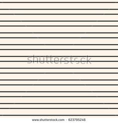 Vector minimalist seamless pattern, simple monochrome texture with black horizontal thin parallel lines on pastel background. Square repeat illustration. Design element for prints, home decor, pillows
