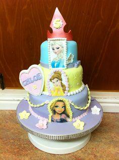 Princess Chloe's cake