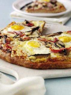 Paleo Recipes - Breakfast Topped Bread.