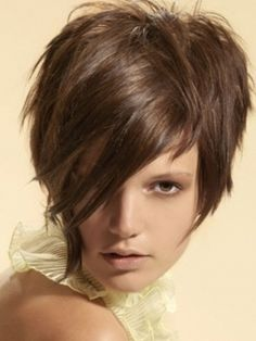 This is more what my hair looks like short...