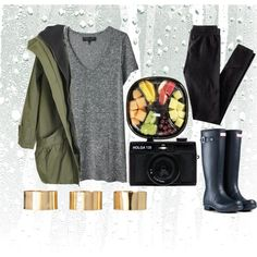 cold-rainy-summer day on imgfave Outfits Dia, Cute Rainy Day Outfits, College Outfits, Winter Outfits, Summer Outfits, Cute Outfits, School Outfits, Rainy Outfit, Rainy Day Outfit For School