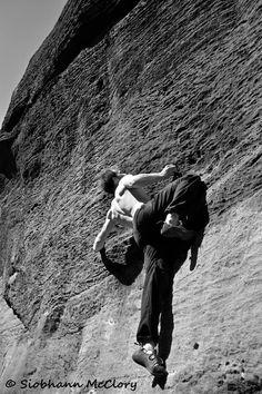Little pixies 7a, Northumberland, back Bowden,  rock climbing, bouldering