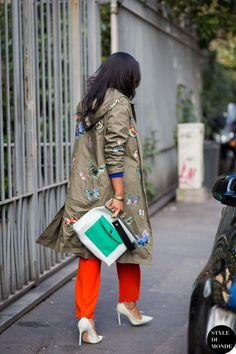 #New on #STYLEDUMONDE http://www.styledumonde.com with @shionat #ShionaTurini at #milan #fashionweek #mfw #valentino #outfit #ootd #streetstyle #streetfashion #streetchic #snobshots #streetsnaps #fashion #mode #style